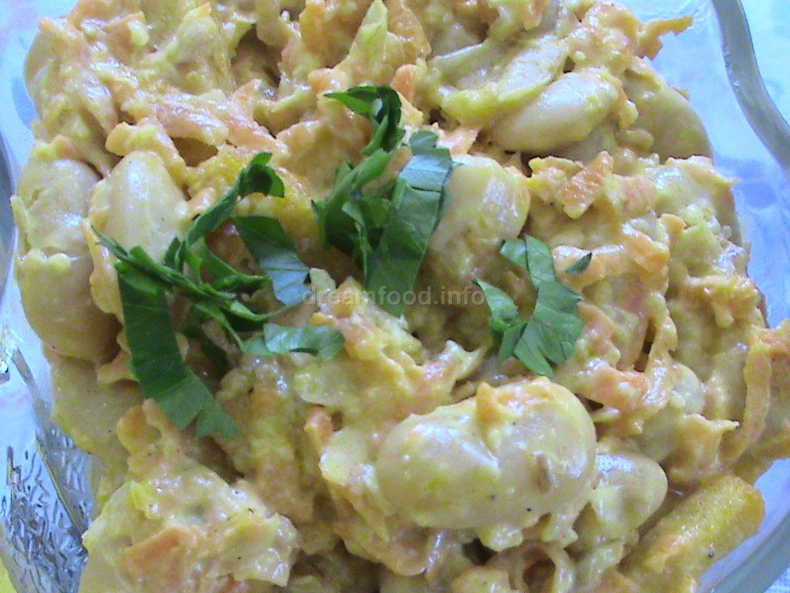 салат из курицы и сухариков рецепт