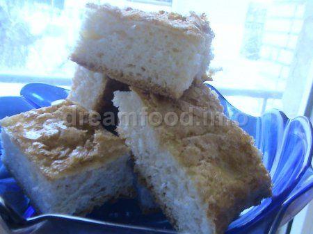 Відкритий пиріг з корицею