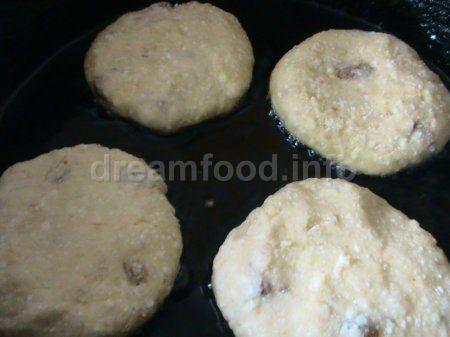Оладки з картоплі і сиру