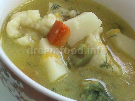 Картопляний суп з галушками
