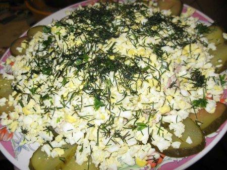 Салат из мозгов