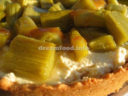 Неземной тарт с ревенем