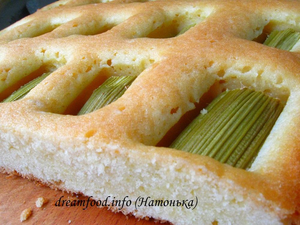 пирожки из ревеня рецепт