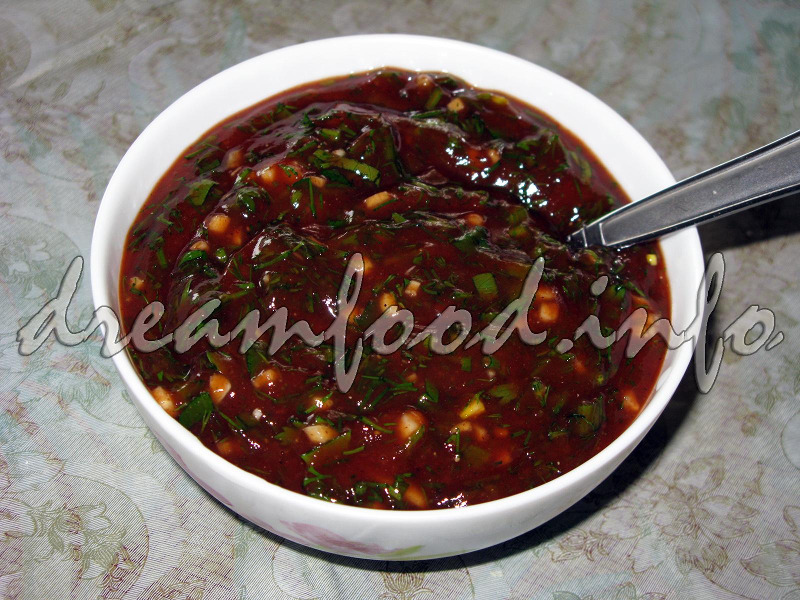 Рецепт соуса для шашлыка фото