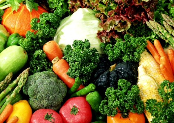 Какие овощи полезны детям?
