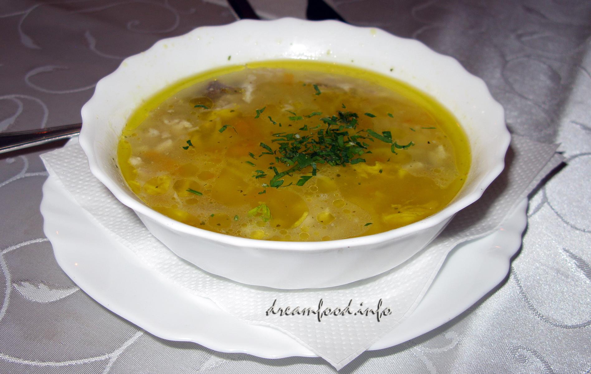 болгарский суп из курицы рецепт