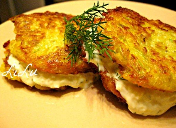 простой рецепт кабачковые оладьи #15