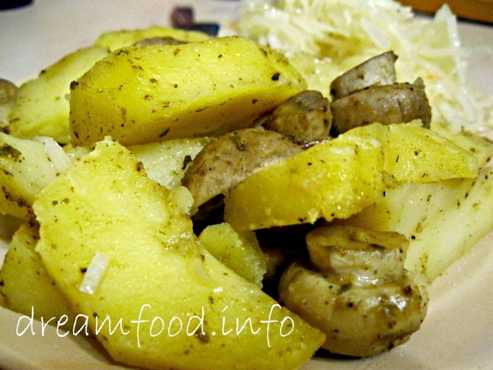 Картошка в пароварке рецепт фото
