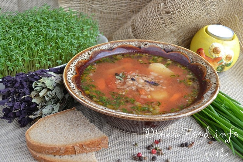 рецепт китайского супа томатного с