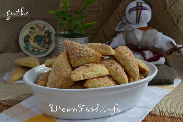 Печенье домашнее с ароматной посыпкой
