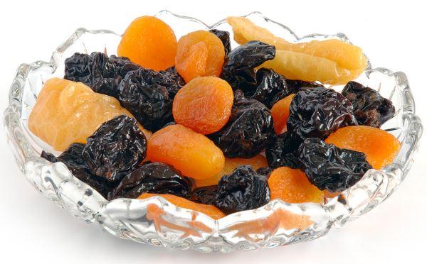 Сухофрукты - вкусно, сытно и здорово