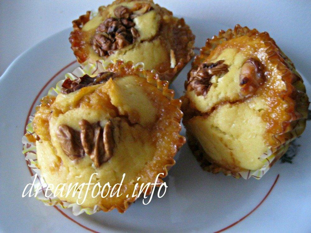 кексы с варёной сгущёнкой рецепт с фото