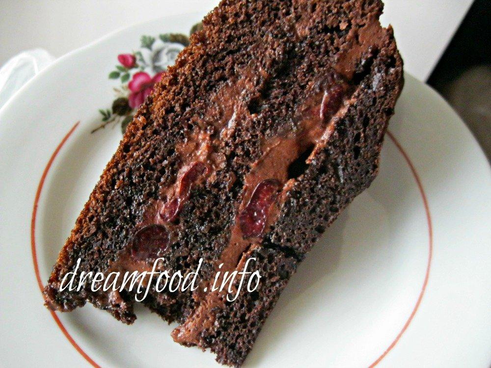 начинка для шоколадного торта рецепт