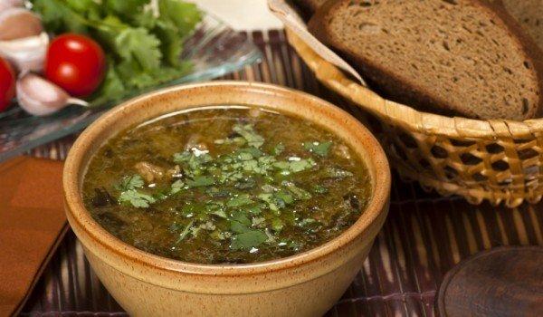 рецепт яичного супа с лапшой
