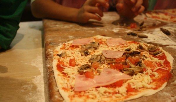 Пицца своими руками сыну 80