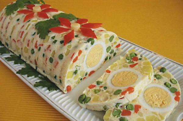 мясные салаты рецепты с фото простые и вкусные