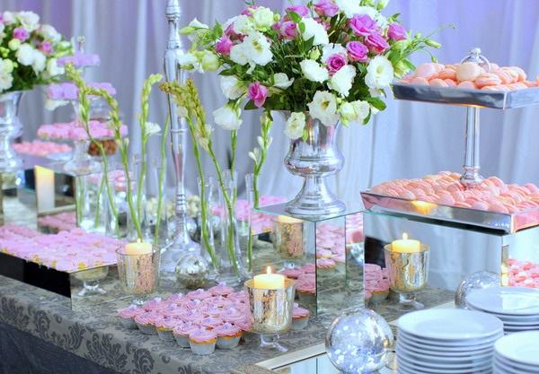 свадебный фуршетный стол