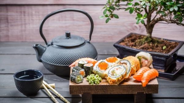 Особенности японских сладостей: суши, сладкие водоросли и ёкан